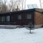 Ośrodek Łańsk - Finka zimą