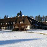 Ośrodek Łańsk - Puszcza ogród zimą
