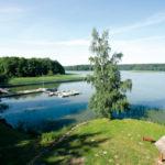Ośrodek Łańsk - jezioro łańskie