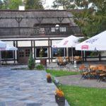 Ośrodek Łańsk - bar na tarasie