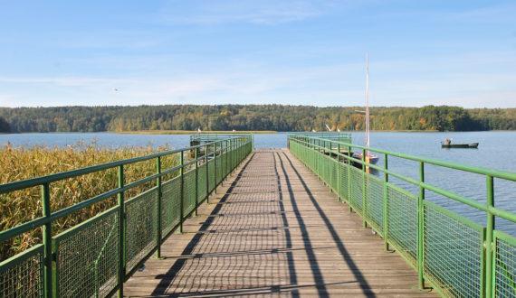 Ośrodek Łańsk - Molo nad jeziorem Łańskim