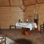 Ośrodek Łańsk - wnętrze kapliczki