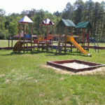 Ośrodek Łańsk - plac zabaw